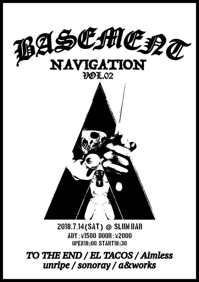 2018.07.14 (Sat) at SLUM BAR